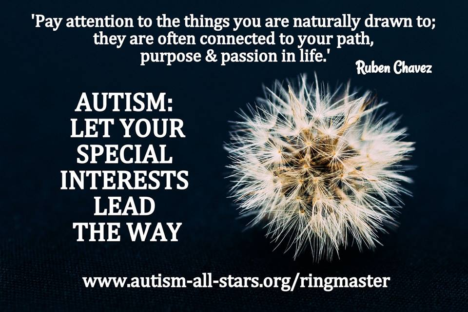 Autism All Stars, Ringmasters Tale, aspergers, autism, disability, diversity, parenting, special needs, autism awareness, autism acceptance, autism parents, special interests, career choices