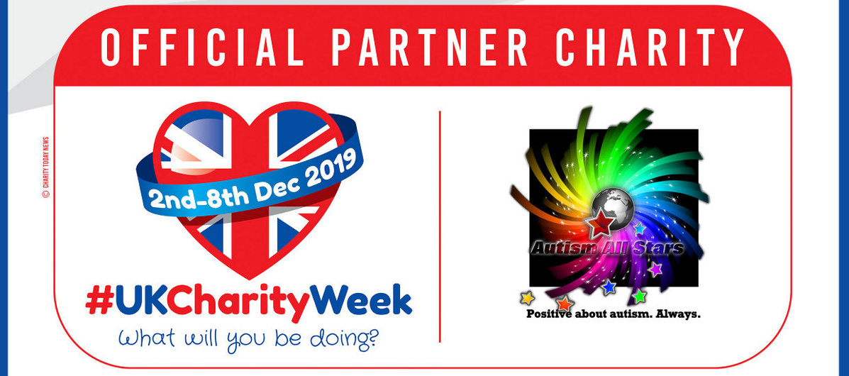 Aspergers, autism, Autism All Stars, autism awareness, UK Charity Week, fundraising, charity, neurodiversity, Surrey, Sussex, UK Charity Week, autism acceptance, actually autistic, donate, fundraiser, teamwork, support autism, Instagram, Facebook, Twitter,