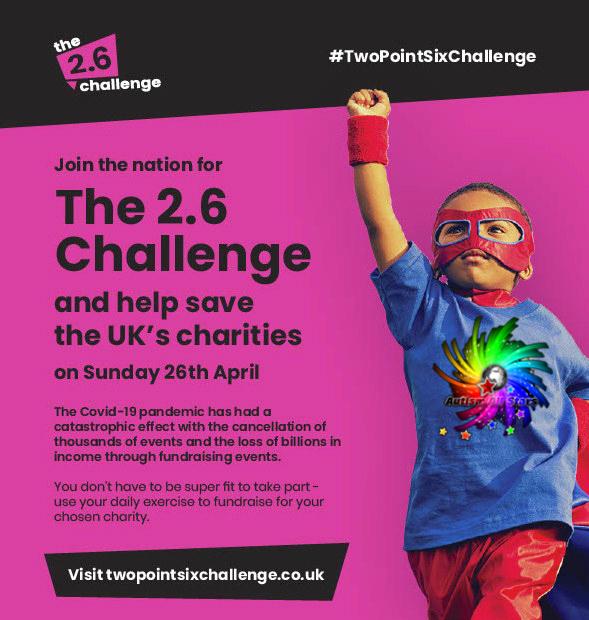 Autism, Aspergers, Autism All Stars, Surrey, UK, Charity, Fundraising, Redhill, Reigate, Horley, Gatwick, Crawley, COVID19, Coronavirus, Emergency Funding, 2.6 Challenge, London Marathon, Home Heroes