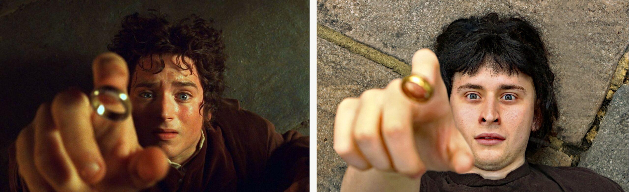 Frodo Baggins Invisibility  / Aidan Baggins Invisibility
