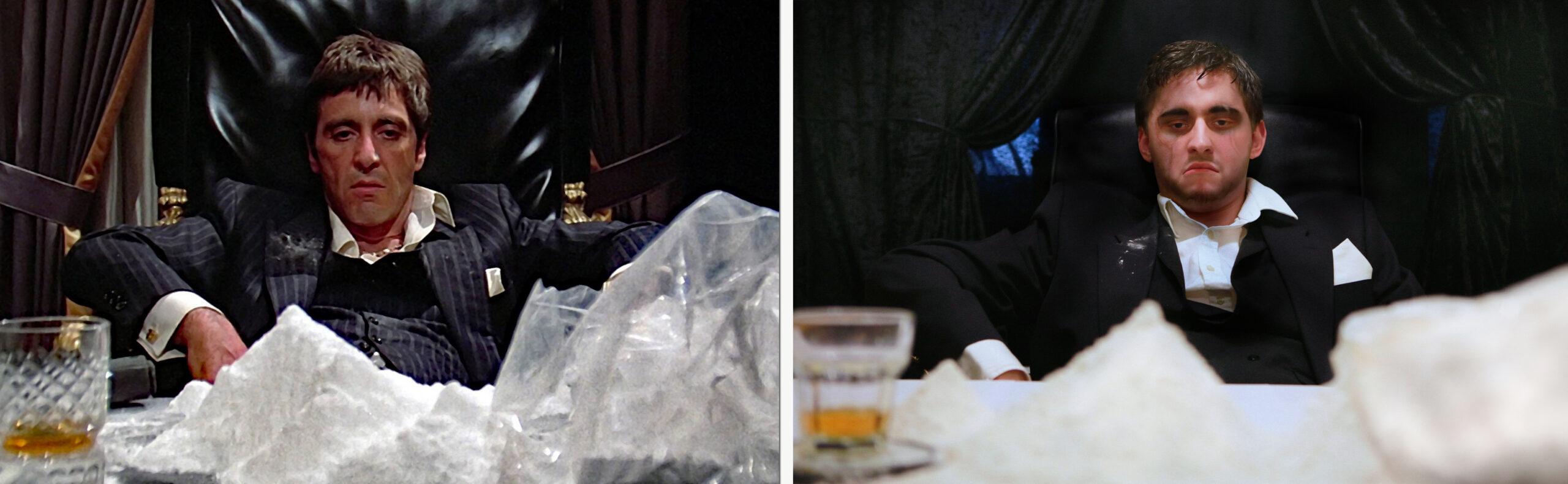 Tony Montana – Scarface / Aidan Ramsay – Paintface