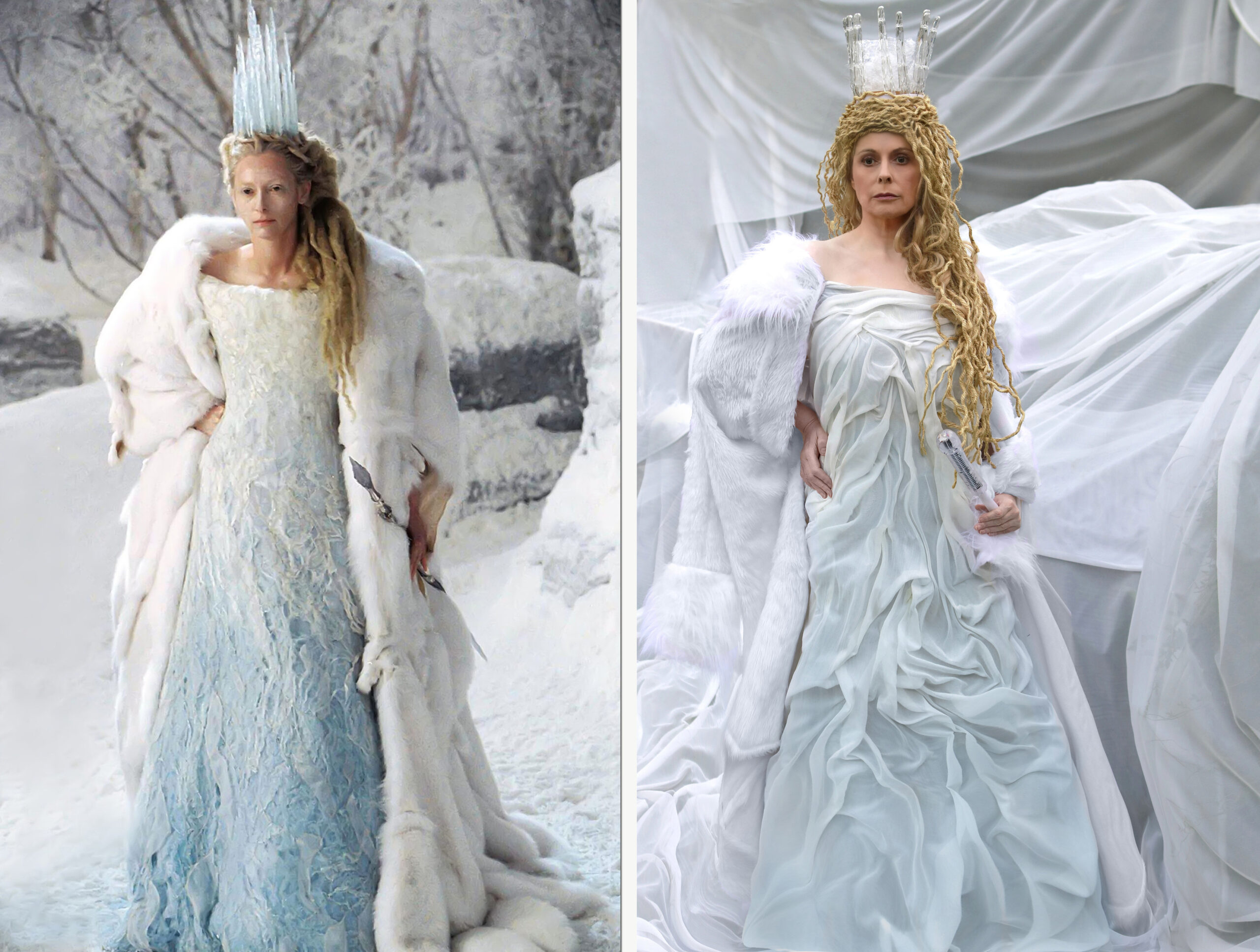 White Witch of Narnia / White Witch of the Back Garden