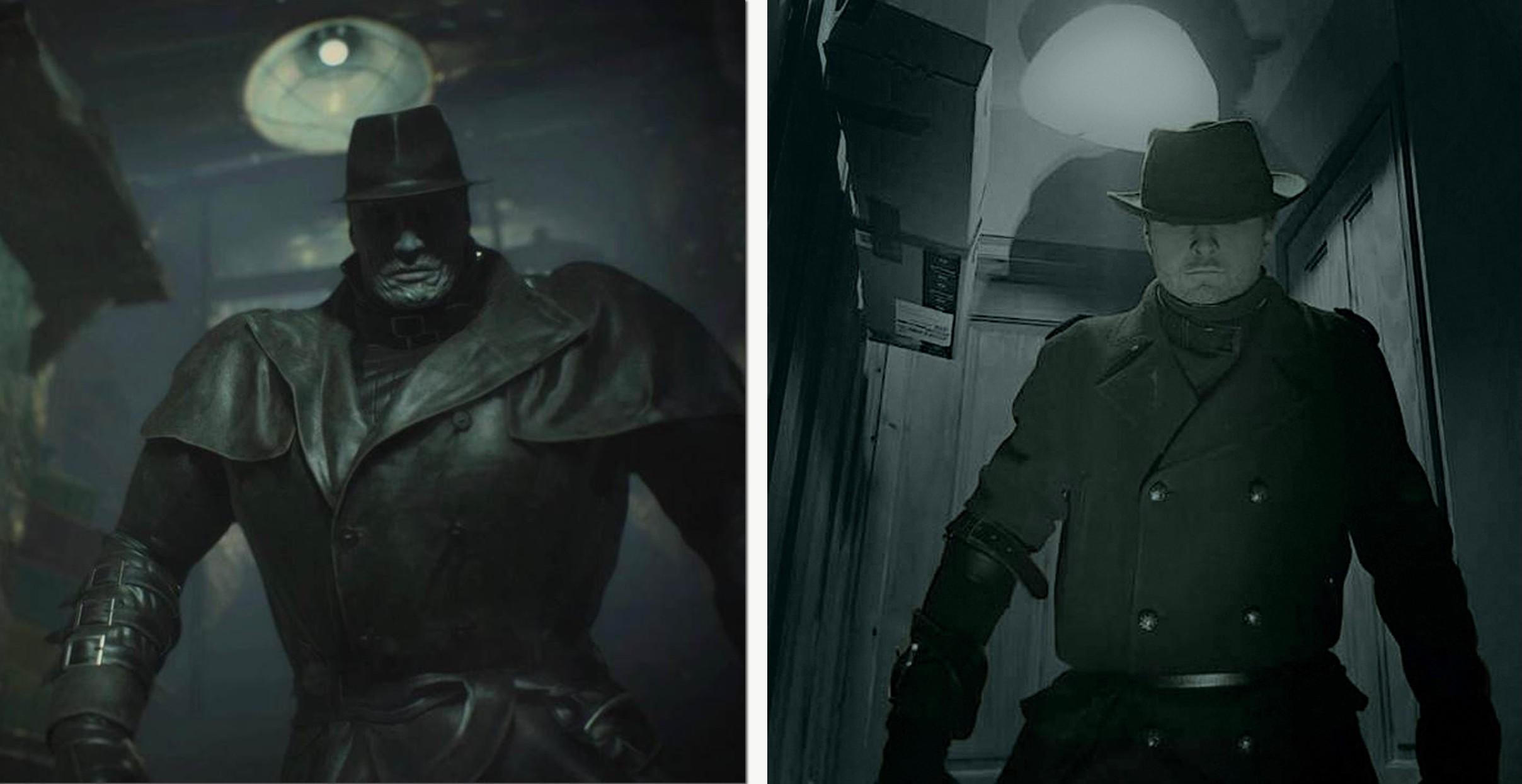 Mr X Resident Evil 2 / Mr R Resident Evil 2