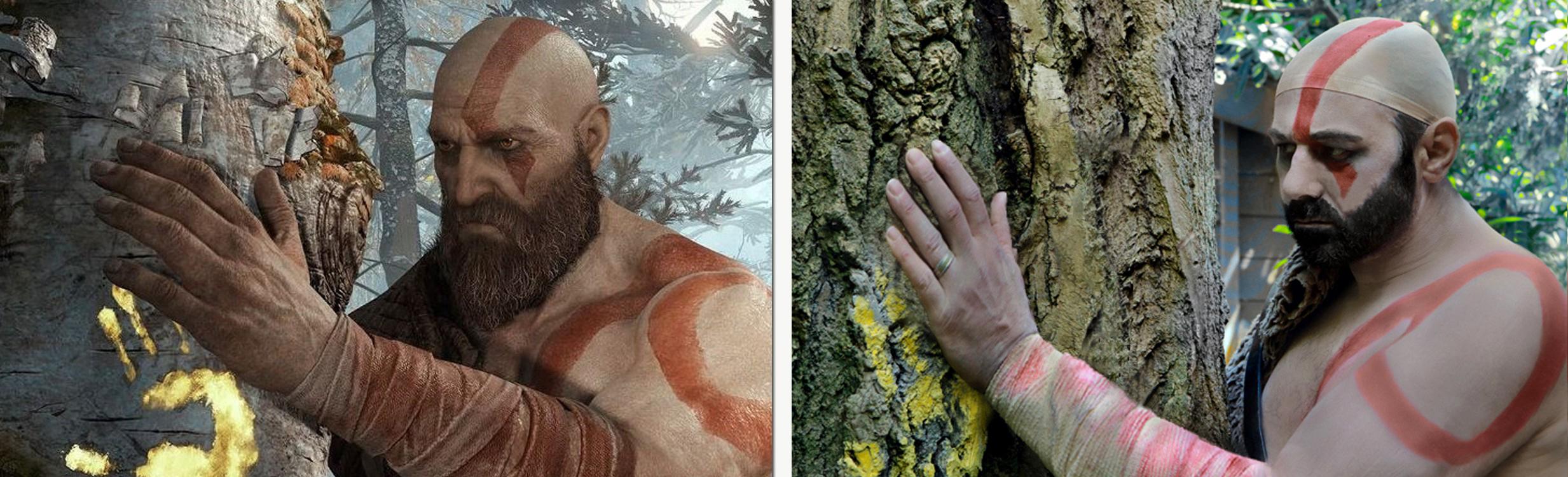Kratos - God Of War / Nigel - God Knows What