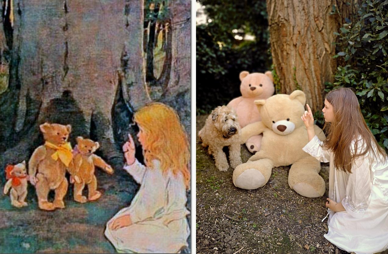 Goldilocks & The Three Bears / Izzylocks and the Three Bears
