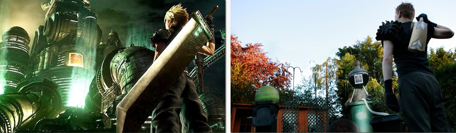 Final Fantasy 7 Remake / Bin Night Fantasy Original