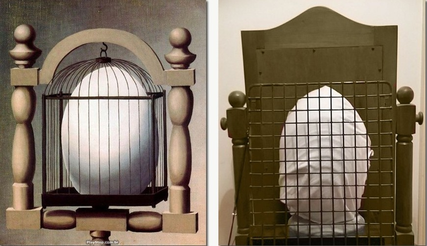 Elective Affinities - Rene Magritte / Rugby Affinities - Chris Ramsay