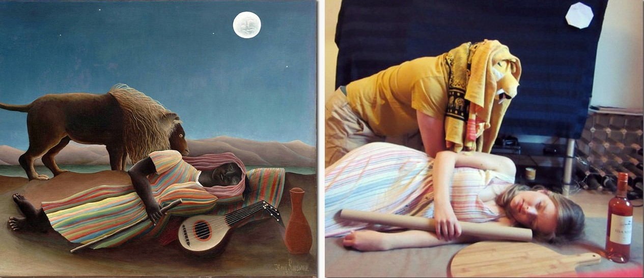 The Sleeping Gypsy / The Sleeping Georgie